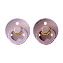 BIBS Colour veľkosť 1 cumlíky z prírodného kaučuku 2ks – dusky lilac heather