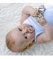 BIBS Colour veľkosť 2 cumlíky z prírodného kaučuku 2ks – iron baby blue