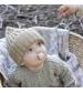 BIBS Supreme veľkosť 1 cumlíky z prírodného kaučuku 2ks-ivory sage