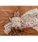 Tommy Lise Bavlnená mušelínová plienka White Leopard