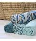 Tommy Lise Bavlnená mušelínová plienka Blue Tiger