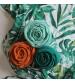 Tommy Lise Bavlnená mušelínová plienka Dreamy Green
