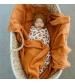 Tommy Lise Bavlnená mušelínová plienka Desert Sun