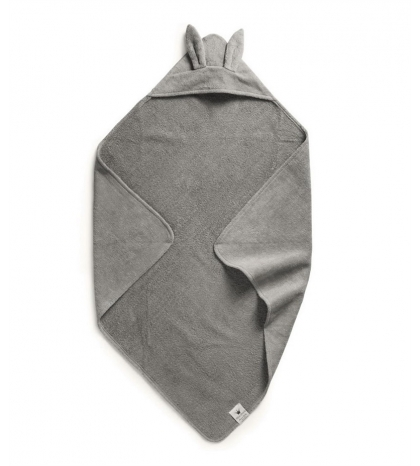 osuška Hooded Towel - Marble Grey  Elodie Details