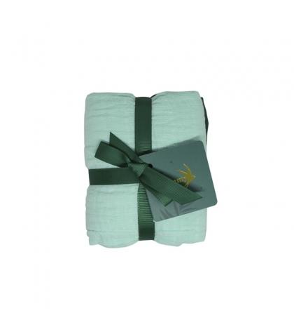 Tommy Lise Bavlnená mušelínová plienka 2 ks Green set