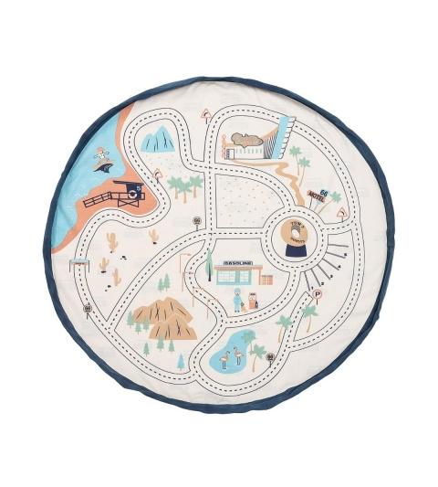 Play&Go vak na hračky L.A. Roadmap