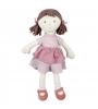 Bonikka All Natural látková bábika Brook ružové šaty