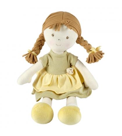 Bonikka All Natural látková bábikaHoney zelené šaty