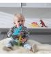 Tikiri Baby dinosaurus z prírodnej gumy para