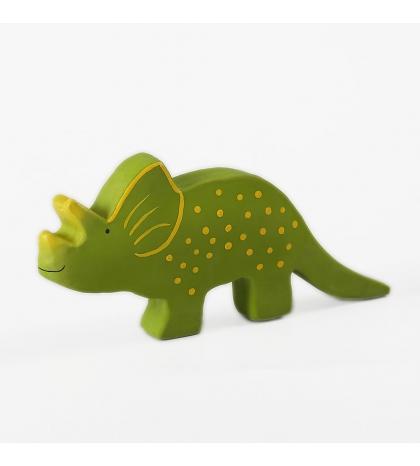 Tikiri Baby dinosaurus z prírodnej gumy trice
