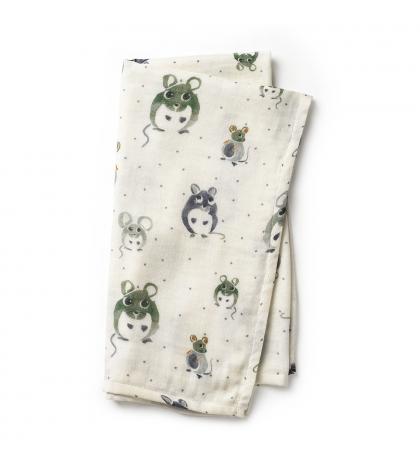 Elodie Details mušelínová deka Forest mouse