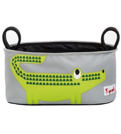 3 Sprouts - Organizér na kočík krokodíl