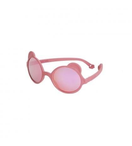 KiETLA slnečné okuliare OURS'ON 2-4 roky antik-pink