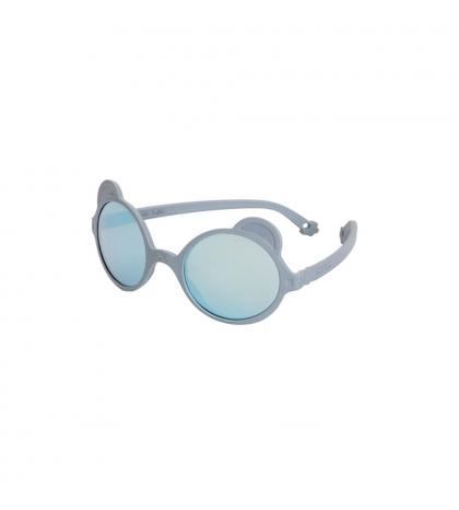KiETLA slnečné okuliare OURS'ON 2-4 roky silver-blue