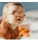 KiETLA slnečné okuliare OURS'ON 2-4 roky peach