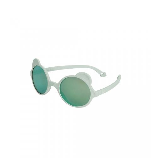 KiETLA slnečné okuliare OURS'ON 2-4 roky almond-green