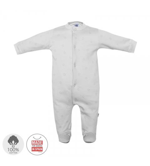 Dojčenský overal veľkosť 62 sivý 391 Cambrass