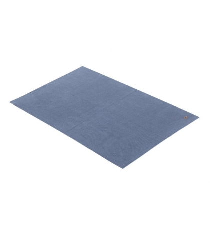 Bavlnená detská deka BASIC modrá 80x100 cm Cambrass