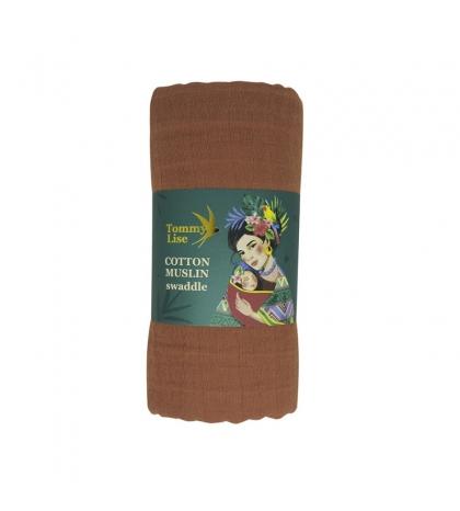Tommy Lise Bavlnená mušelínová plienka Glazed Ginger