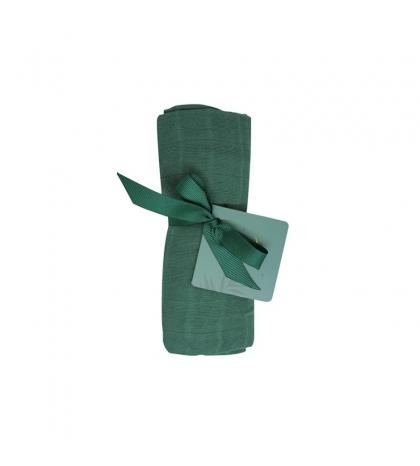 Tommy Lise Bavlnená mušelínová plienka 70 X 70 Mangrove Green