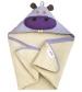 3 Sprouts Hooded Towel - Osuška s kapucňou  hroch