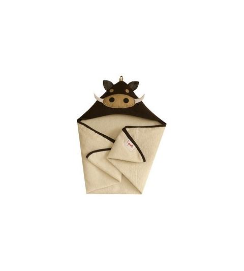 3 Sprouts Hooded Towel - Osuška s kapucňou  diviak