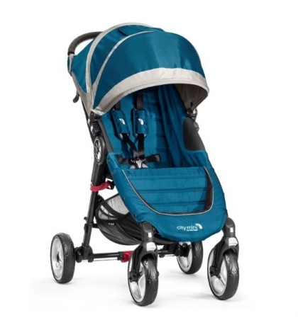 CITY MINI 4 KOLESÁ - baby jogger TEAL/GRAY