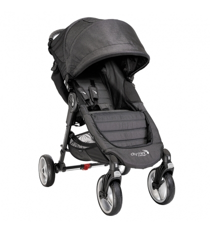 Baby Jogger CITY MINI 4 KOLESÁ CHARCOAL  sivý