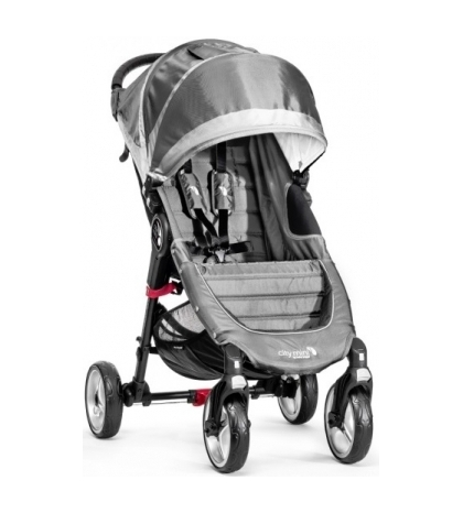CITY MINI 4 KOLESÁ - baby jogger STEEL GRAY