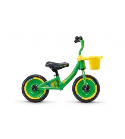 S'COOL Detské odrážadlo pedeX 3in1 zeleno/žlté