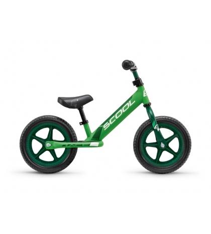 S'COOL Detské odrážadlo pedeX race čierno/zelené