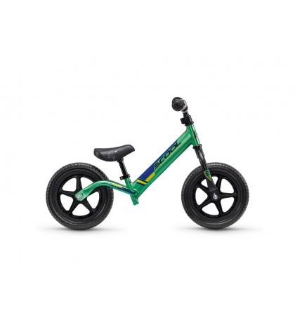 S'COOL Detské odrážadlo pedeX race light zeleno/čierne