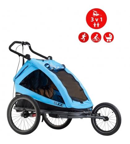 S'COOL S'COOL TaXXi Elite 2 Cyklovozík modrý