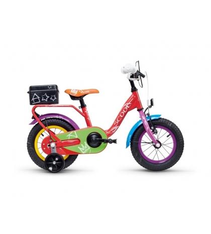 S'COOL S'COOL niXe chalk 12 Detský bicykel farebný (od 99 cm)