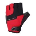 Chiba Cyklistické rukavice pre dospelých Gel Comfort červené