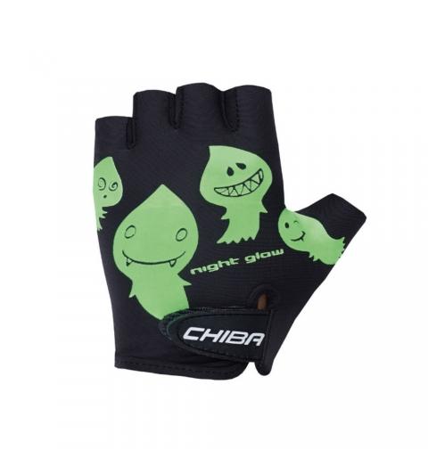 Chiba Cyklistické rukavice pre deti COOL KIDS Duchovia