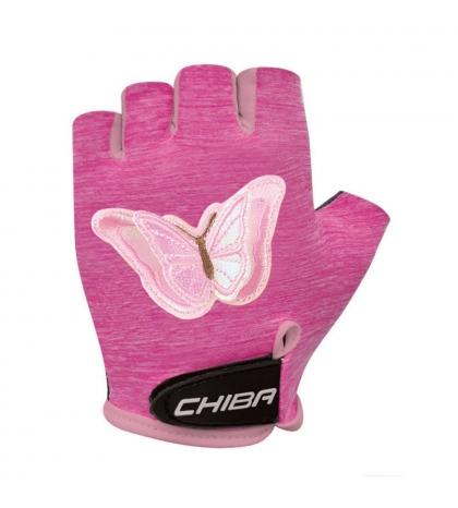 Chiba Cyklistické rukavice pre deti Cool Kids Motýľ