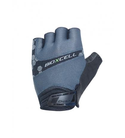 Chiba Cyklistické rukavice pre dospelých BioXCell Pro šedé