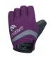 Chiba Cyklistické rukavice pre ženy Lady BioXCell fialové