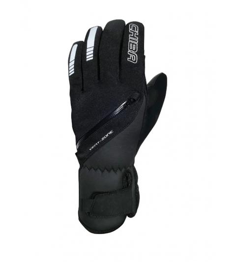 Chiba Zimné cyklistické rukavice pre dospelých City Liner čierne
