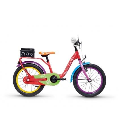 S'COOL S'COOL Detský bicykel niXe chalk 16 farebný (od 105 cm)
