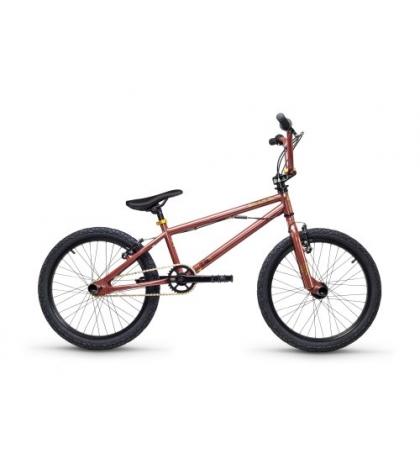 S'COOL S'COOL XtriX 20 Detský bicykel hnedý/zlatý (od 122 cm)