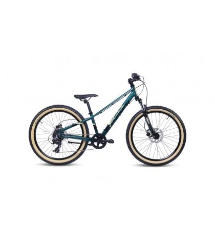 S'COOL S'COOL Xroc Disc 24 ALTUS Detský bicykel olivový/kamufláž