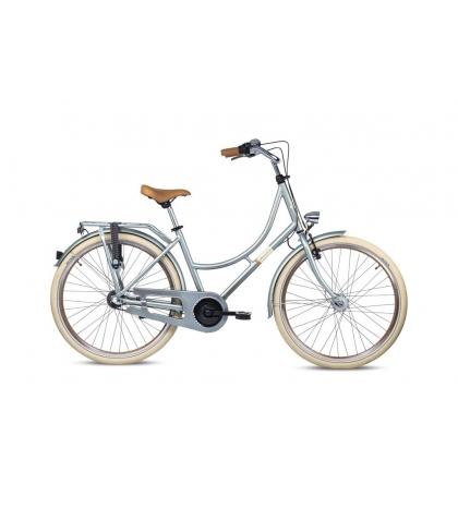 S'COOL S'COOL chiX 26 Detský bicykel retro metalický zelený (od 149 cm)