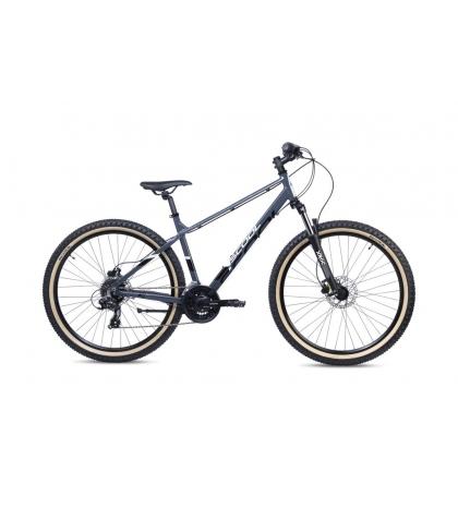 S'COOL S'COOL Xroc Disc 27,5 Detský bicykel čierny/šedý (od 155 cm)