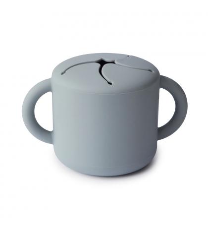 Mushie silikónový pohárik na snack stone