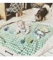 Play&Go 2v1 hracia deka / vak na hračky CLASSIC tmavo modrý