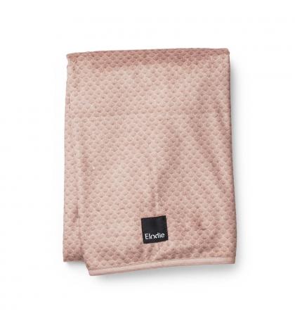 Zamatová deka - Pink Noveau - Elodie