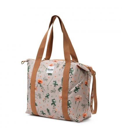 Softshellová Prebaľovacia Taška - Meadow Blossom -Elodie