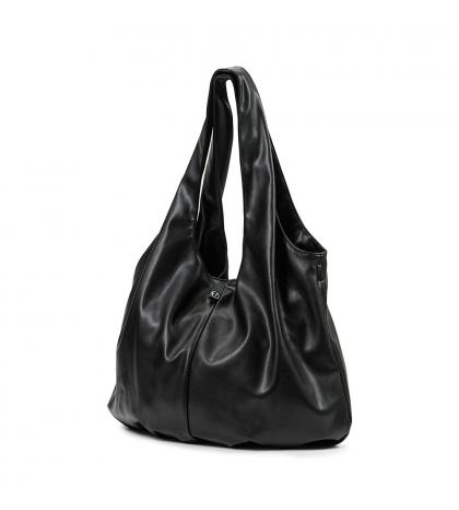 Prebaľovacia Taška Draped Tote - Black -Elodie